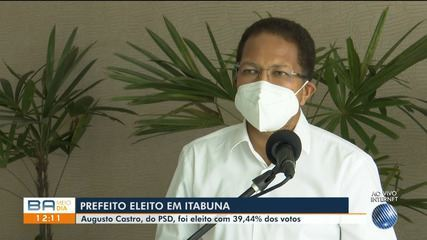 Veja a entrevista com Augusto Castro, do PSD, eleito prefeito de Itabuna no domingo