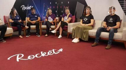 Rocket Sociedade #Episódio4: startups se reúnem para dois talks e networking