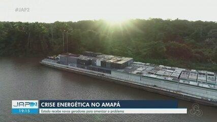 Balsas com geradores termelétricos visando retorno 100% da energia chegam ao Amapá