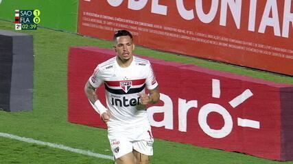 Os gols de São Paulo 3 x 0 Flamengo, pelas quartas de final da Copa do Brasil