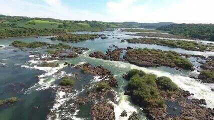 Neste sábado, você vai conhecer as belezas e curiosidades do maior rio do Paraná, o Rio Iguaçu