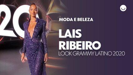 Lais Ribeiro mostra seu look para apresentar o Grammy Latino 2020