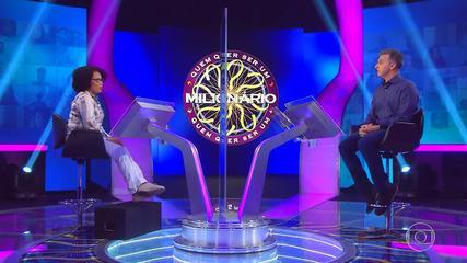 Janaí Caló continua busca pelo prêmio do 'Quem Quer Ser Um Milionário?'