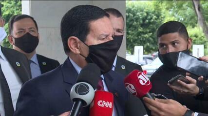 Madeira ilegal: Mourão diz que governo tem responsabilidade sobre fiscalização