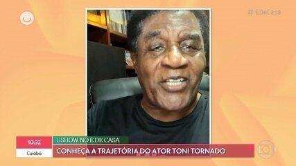 Tony Tornado relembra sua trajetória