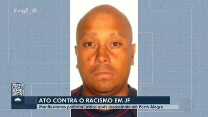 Juiz de Fora tem ato em frente ao Carrefour contra o racismo e a violência
