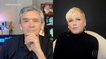 Xuxa fala da amizade com Ivete Sangalo