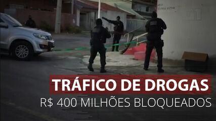 PF cumpre mais de 200 mandados em investigação contra tráfico de drogas