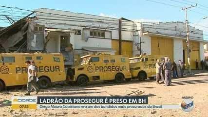 Preso com fuzil em MG é homem condenado por ataque à Prosegur em Ribeirão Preto