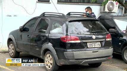Viatura da Polícia Civil é recuperada em cerco eletrônico, em Vitória
