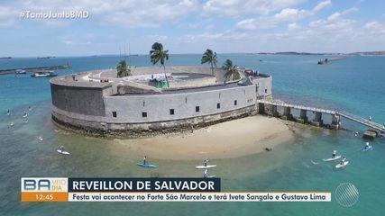Salvador vai ter festa de Réveillon com shows virtuais de Ivete Sangalo e Gusttavo Lima