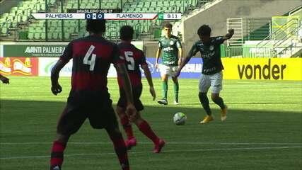 Melhores momentos: Palmeiras 1 x 1 Flamengo, pelo Brasileirão Sub-17