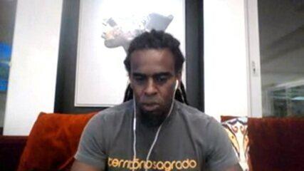 Tinga explica o motivo de não ter participado do Caioba Game Show, na semana do Dia da Consciência Negra