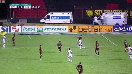 Melhores momentos: Sport 0 x 1 Atlético-GO pela 22ª rodada do Brasileirão
