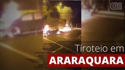 Araraquara tem madrugada de terror com tiroteio após tentativa de roubo a bancos