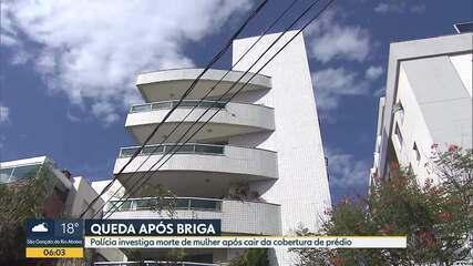 Polícia investiga queda de mulher da cobertura do prédio do namorado em Belo Horizonte