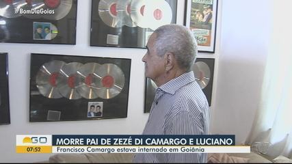 Francisco Camargo pai de Zezé Di Camargo e Luciano, morre aos 83 anos, em Goiânia