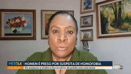 Polícia prende homem suspeito de homofobia em Curitiba