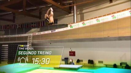 Diário Time Brasil: Camilla Gomes mostra rotina da seleção brasileira de trampolim em Portugal