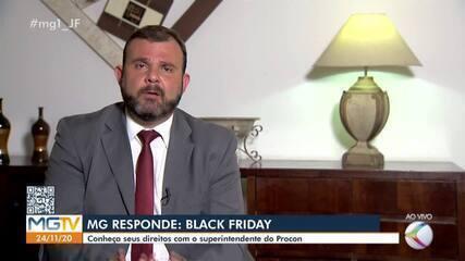 MG Responde: superintendente do Procon em Juiz de Fora tira dúvidas sobre Black Friday