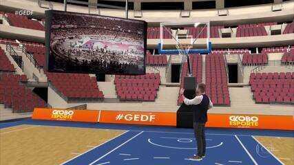 Série especial relembra projeto que levou Brasília ao topo do basquete nacional