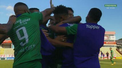 Os gols de Paraná 1 x 2 Guarani, pela 23ª rodada da Série B