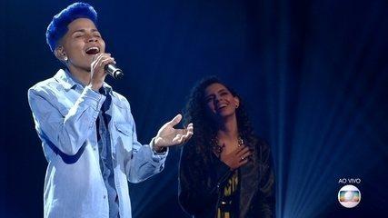 Ed Souza canta 'Se Deus Me Ouvisse' na Rodada de Fogo