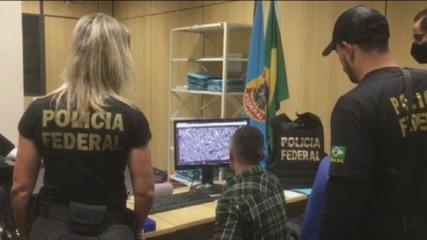 Polícia Civil e PF fazem operação contra rede de pedofilia em 4 estados