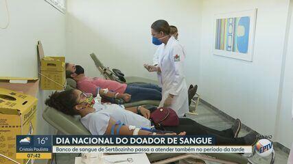 Banco de Sangue de Sertãozinho, SP, passa a atender durante a tarde