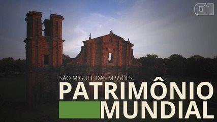 Descubra o Brasil: Ruínas de S. Miguel das Missões (RS) são Patrimônio Mundial