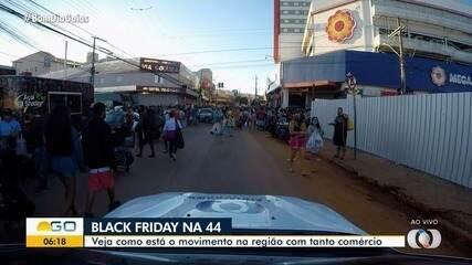 Acompanhe o movimento da Rua 44 em Goiânia