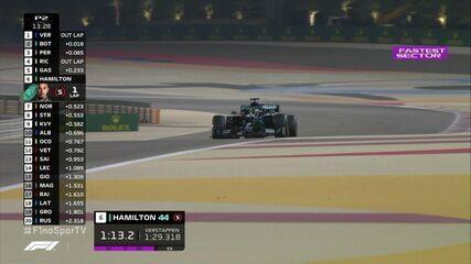 Hamilton faz o melhor tempo no treino livre do GP do Barein