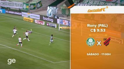Tirando da Cartola: Confira as dicas para a rodada #23 do Cartola FC 2020