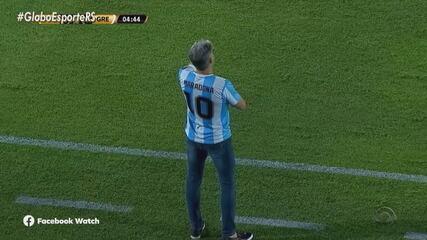 Grêmio vence o Guaraní por 2 a 0 e abre vantagem nas oitavas de final