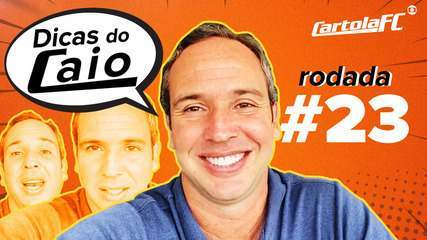 Três apostas para mitar na #23 Rodada - Dicas do Caio Ribeiro