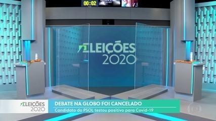Entenda por que o debate entre Bruno Covas e Guilherme Boulos na TV Globo foi cancelado