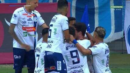 Melhores momentos de Cruzeiro 1 x 2 Confiança, pela Série B do Campeonato Brasileiro