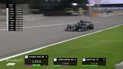Hamilton assume a ponta no Q3 do treino oficial do GP Barein