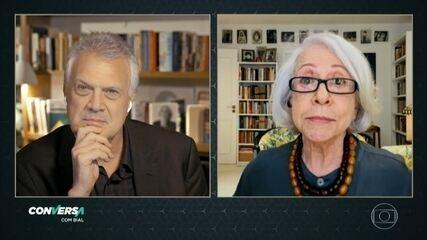 No 'Conversa', Fernanda Montenegro relembra primórdios da televisão no Brasil