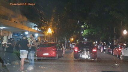 Guarda Municipal dispersa aglomerações nas ruas de Porto Alegre