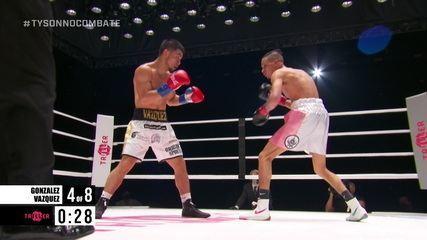 Irvin Gonzalez Jr. x Edward Vasquez pelos pesos pena do boxe internacional