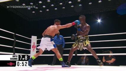 Jamaine Ortiz x Sulaiman Segawa pelos pesos leves do boxe internacional