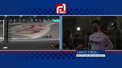 """Lance Stroll fala sobre acidente na segunda largada: """"É uma piada. Sempre algo dá errado"""""""