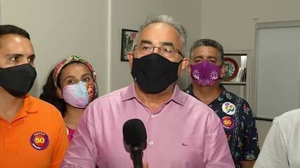 Edmilson Rodrigues (PSOL) anuncia primeiros atos como prefeito de Belém, após a posse