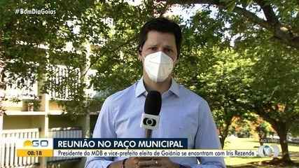 Maguito 'derramou lágrimas' ao ser informado que foi eleito prefeito de Goiânia, diz filho
