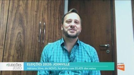 Eleições 2020: Adriano Silva, do Novo, fala sobre o resultado das eleições em Joinville