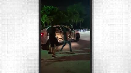David e Yuri César são flagrados em boate em Fortaleza