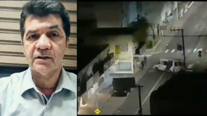 Prefeito de Criciúma fala sobre noite de violência na cidade