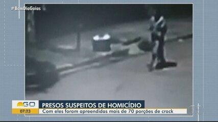 Polícia prende suspeitos de homicídio em Nerópolis