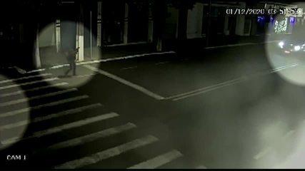 Câmera de segurança mostra movimentação de suspeitos de roubar bancos em Floraí